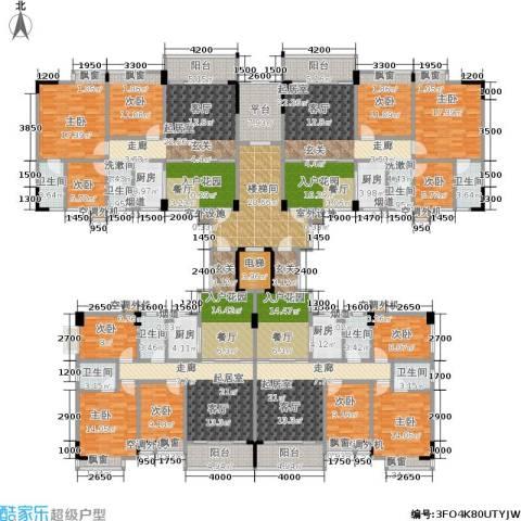 金叶阳光新城9室0厅8卫4厨362.68㎡户型图
