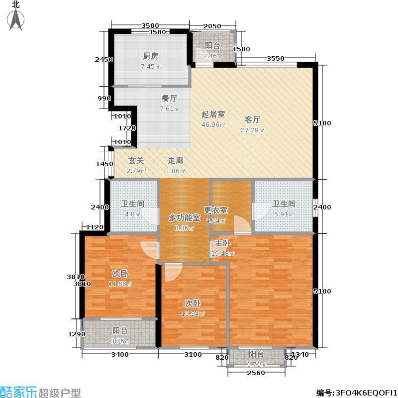 银丰花园银丰花园户型图银丰花园c4三室两厅(27/31张)户型3室2厅2卫