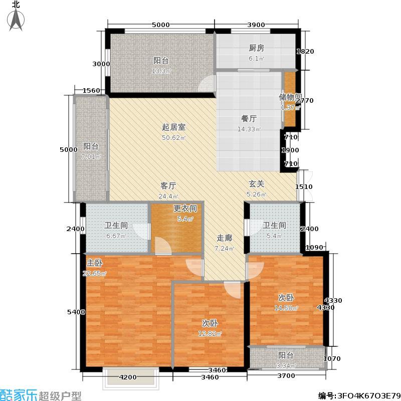 银丰花园银丰花园户型图3室2厅(21/31张)户型3室2厅1卫