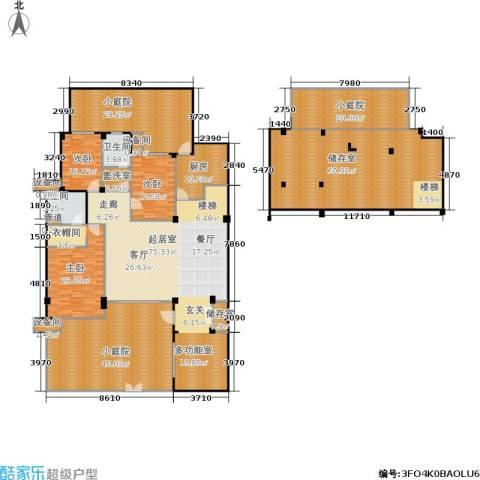 万科・深蓝3室0厅2卫1厨402.00㎡户型图