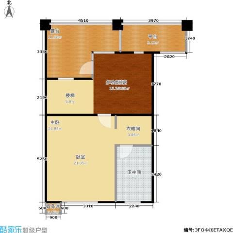 合生江山帝景1室0厅1卫0厨92.00㎡户型图