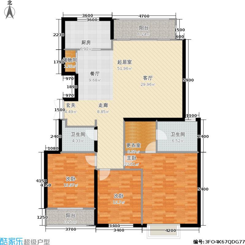 银丰花园银丰花园户型图银丰花园d2三室两厅(30/31张)户型3室2厅2卫