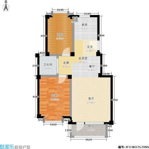 哈佛映像2室0厅1卫0厨73.70㎡户型图