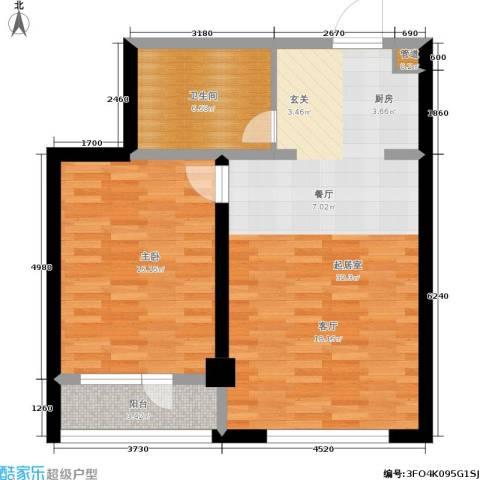 香岛丽湾1室0厅1卫0厨84.00㎡户型图