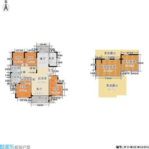 漫山香墅4室0厅2卫1厨235.00㎡户型图