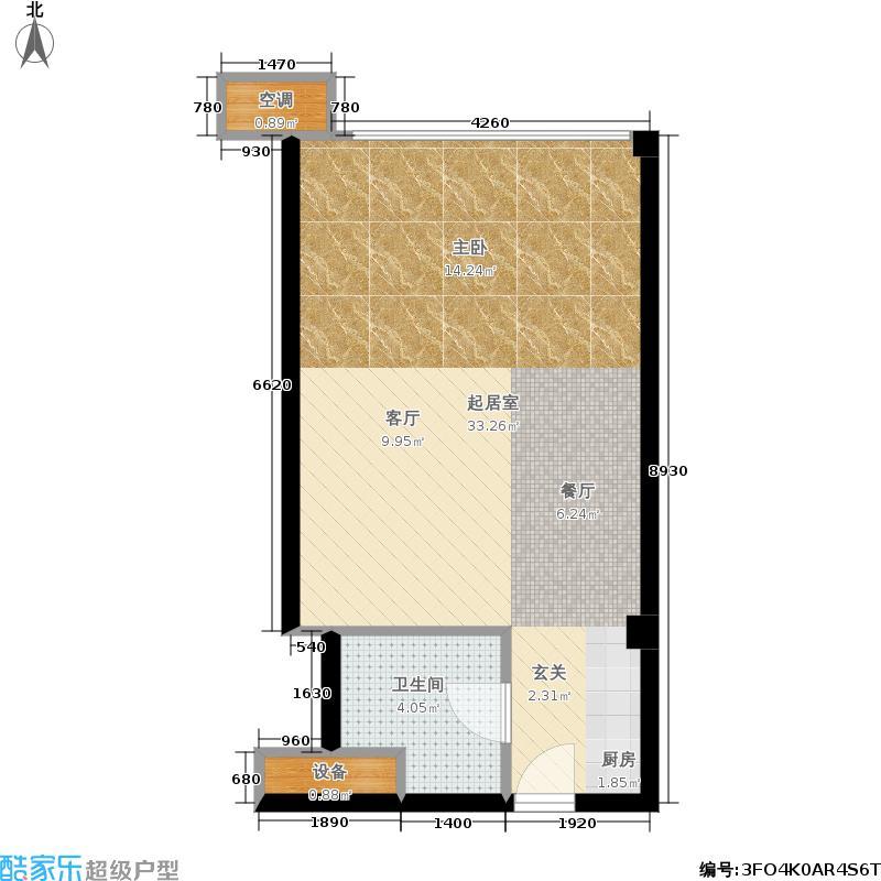 中齐未来城2号公寓户型
