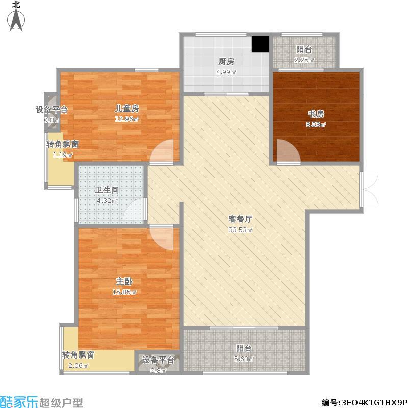 宏泰世纪滨江2-3-5E1