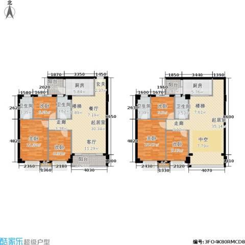 威斯广场6室0厅4卫2厨159.75㎡户型图