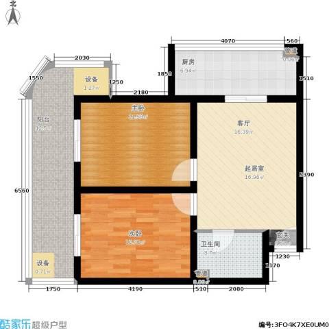 金玉人家2室0厅1卫1厨81.00㎡户型图