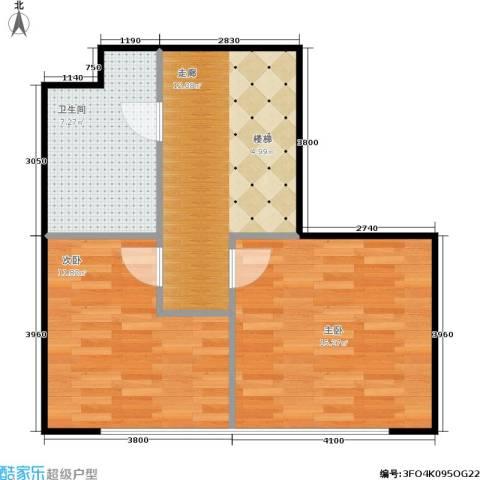 诚基中心2室0厅1卫0厨50.00㎡户型图