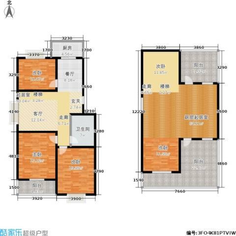 滨河27栋3室0厅1卫1厨192.59㎡户型图