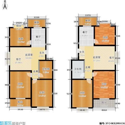滨河27栋6室0厅2卫2厨283.00㎡户型图