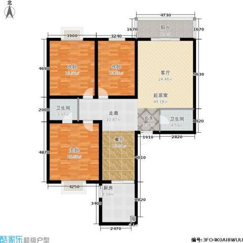 唐宫尚品3室0厅2卫1厨137.00㎡户型图