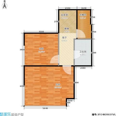 诚基中心2室0厅1卫0厨70.00㎡户型图