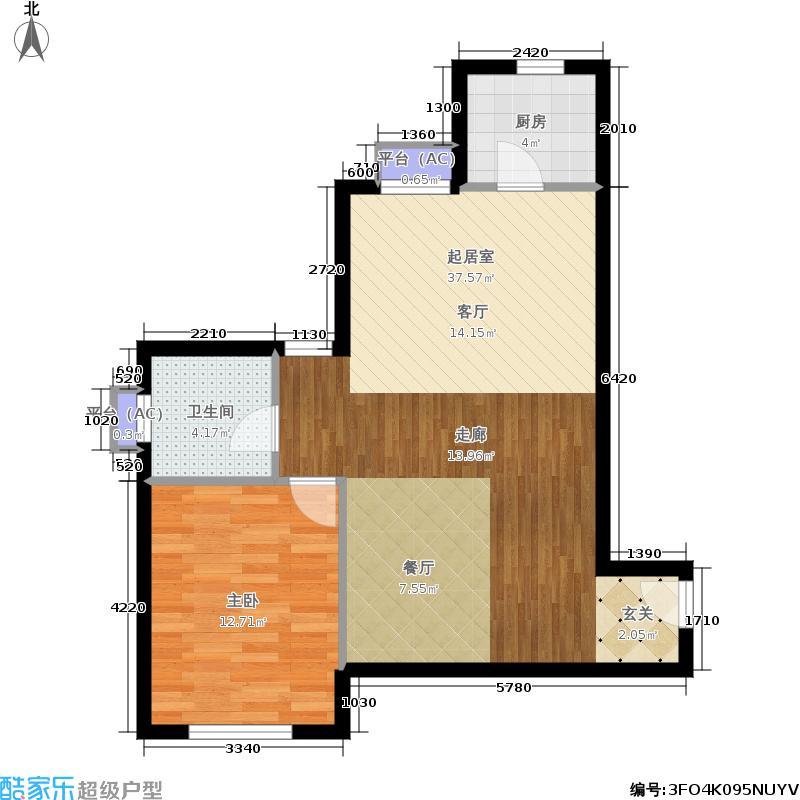 水晶公寓户型