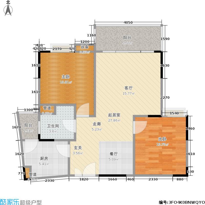 枫丹树语城房型户型