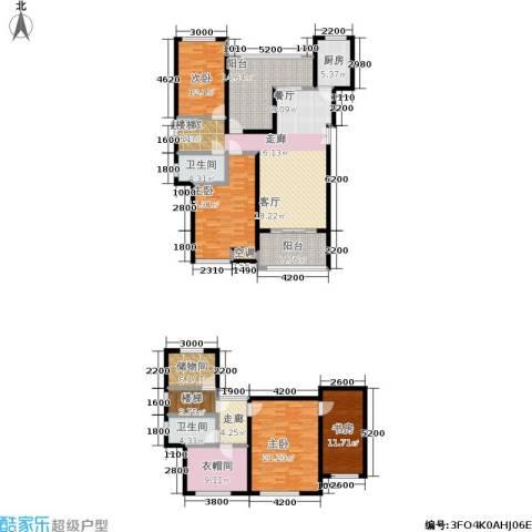 嘉盛格兰小镇4室0厅2卫1厨230.00㎡户型图