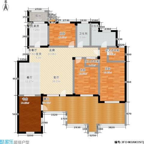 壹品漫谷4室1厅2卫1厨239.00㎡户型图