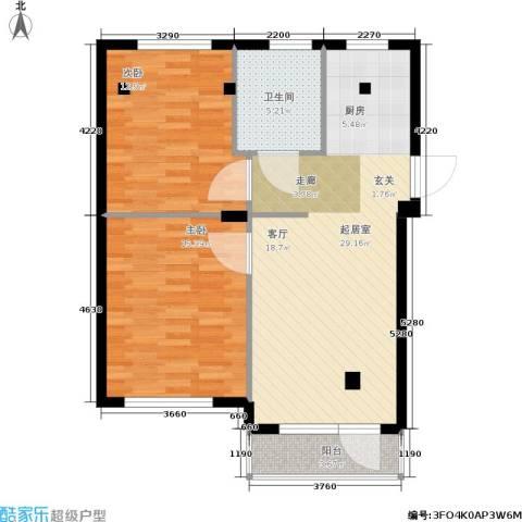 华兴尚园2室0厅1卫0厨92.00㎡户型图