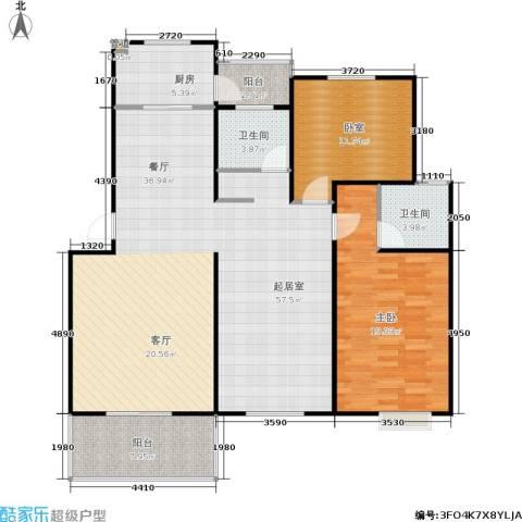 宝城名苑1室0厅2卫1厨112.21㎡户型图