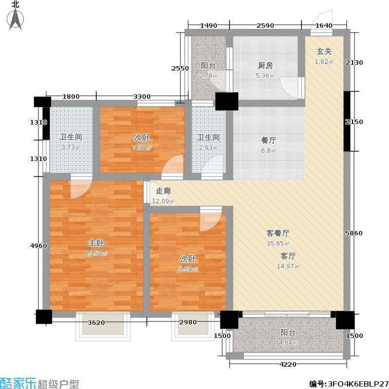 广运都市景苑广运都市景苑户型图(10/10张)户型10室
