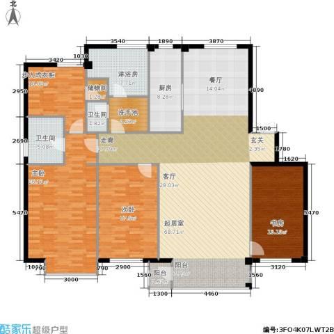 华兴尚园3室0厅2卫1厨228.00㎡户型图