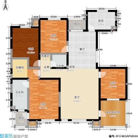 唯美品格4室0厅2卫1厨189.00㎡户型图
