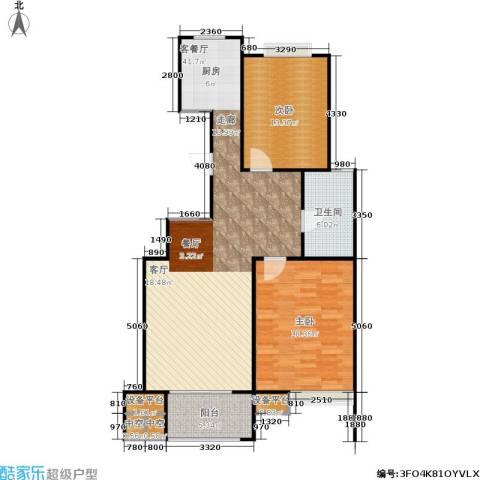 锡春华庭2室1厅1卫0厨118.00㎡户型图