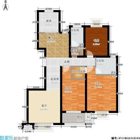 发祥福邸3室0厅2卫1厨147.00㎡户型图