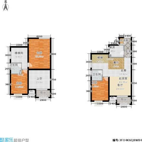 发祥福邸3室0厅2卫1厨165.00㎡户型图