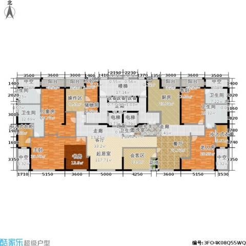 荣兴云天5室0厅5卫0厨380.10㎡户型图