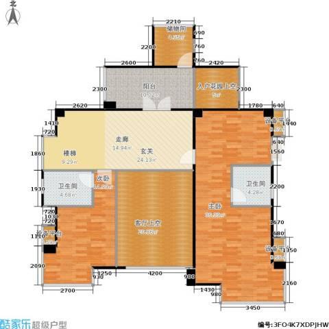 景湖春晓2室0厅2卫0厨171.00㎡户型图