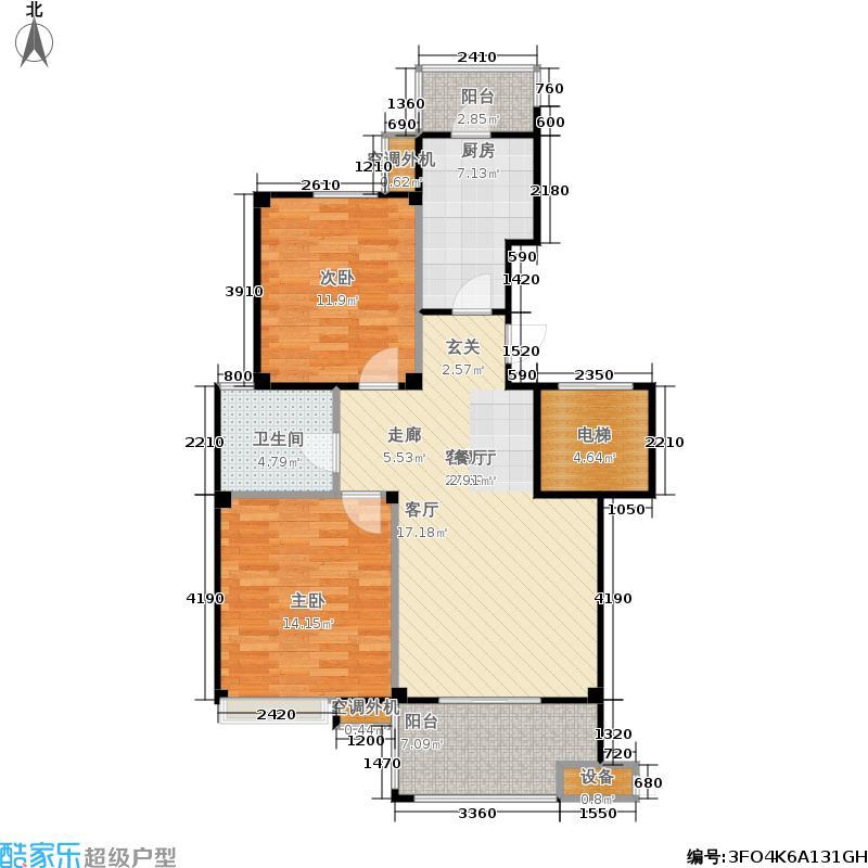 派舍提香派舍提香户型图两房两厅(6/6张)户型10室
