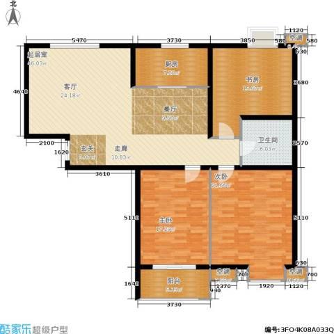 锦绣泉城3室0厅1卫1厨168.00㎡户型图