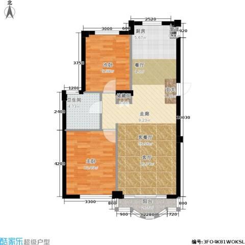 文华园2室1厅1卫0厨95.00㎡户型图