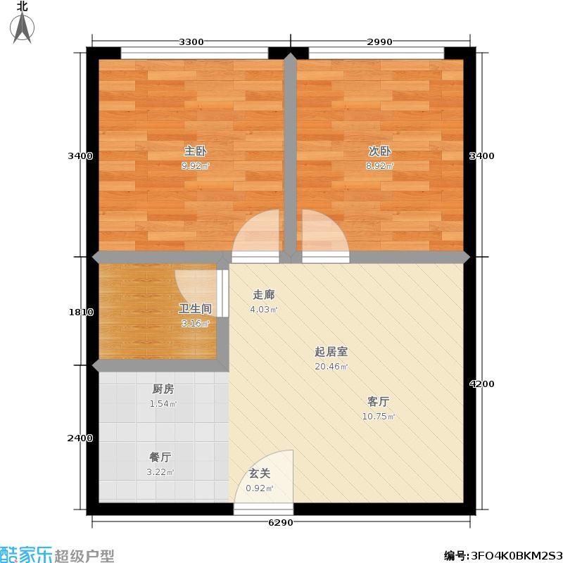 香港国际40.00㎡D7户型