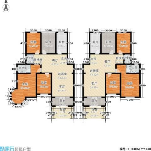 欧风小镇6室0厅4卫2厨241.10㎡户型图