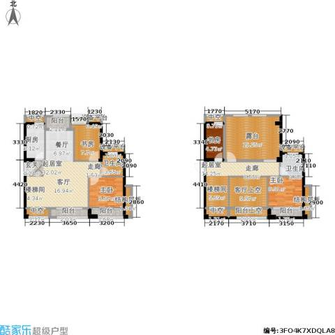 泉舜泉水湾4室0厅2卫1厨141.00㎡户型图