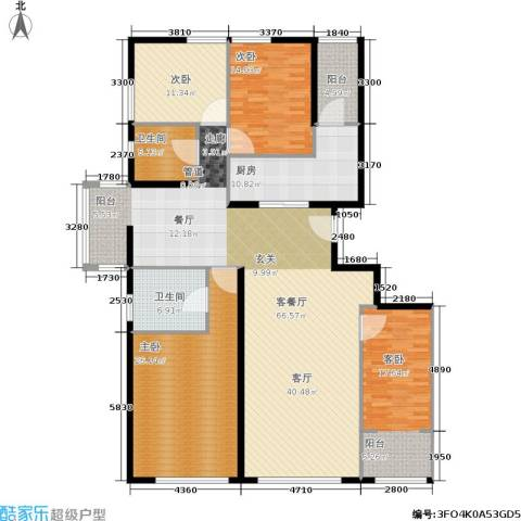 新奥洋房4室1厅2卫1厨180.00㎡户型图