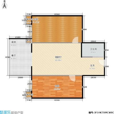城东小筑2室1厅1卫0厨91.53㎡户型图