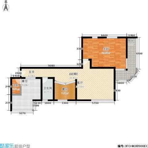 江都怡园2室0厅1卫1厨148.00㎡户型图