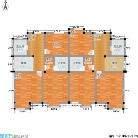 海景华苑6室0厅4卫0厨234.00㎡户型图