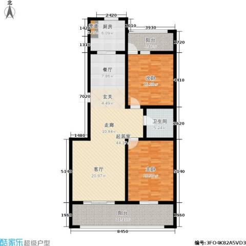 舜承大厦2室0厅1卫1厨155.00㎡户型图