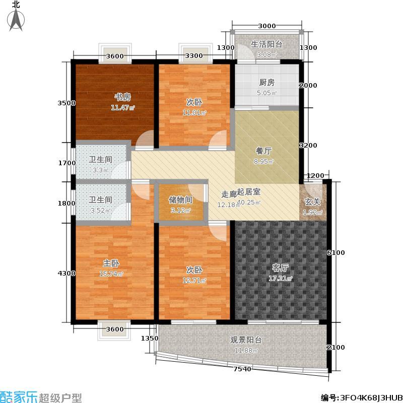嘉汇馨源嘉汇馨源户型图(3/4张)户型10室