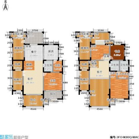 香克林小镇5室0厅3卫1厨261.96㎡户型图