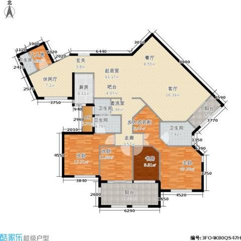 融汇江山4室0厅4卫1厨284.00㎡户型图