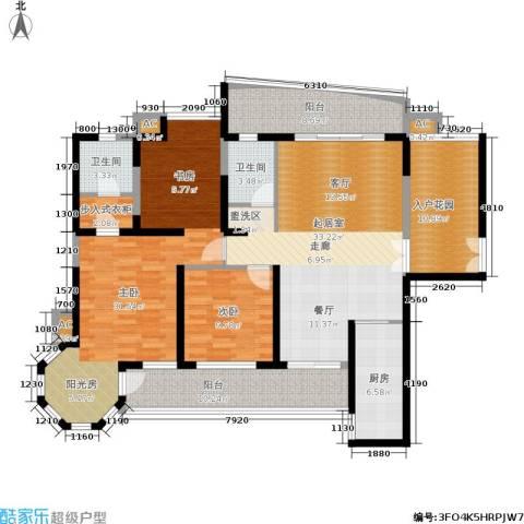 盛世一品2室0厅2卫1厨137.00㎡户型图