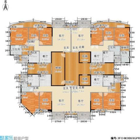 世纪云顶雅苑9室5厅6卫3厨530.00㎡户型图