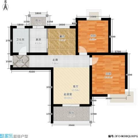 昆明花园2室0厅1卫1厨94.00㎡户型图