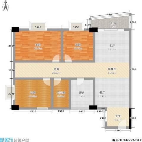 花街183室1厅1卫1厨155.00㎡户型图